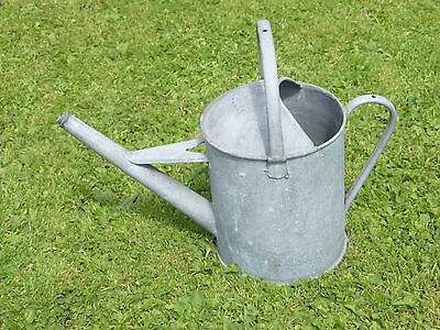 Vintage Watering Can. 1 Gallon. With  Hoop Handle. Watertight.