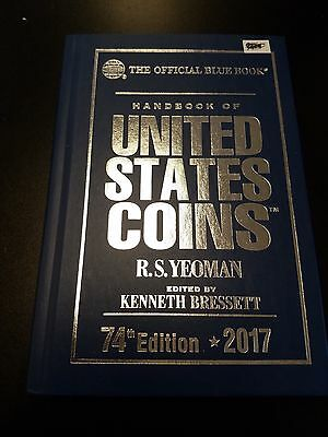 2017 U S Coins Bluebook 74th Edition