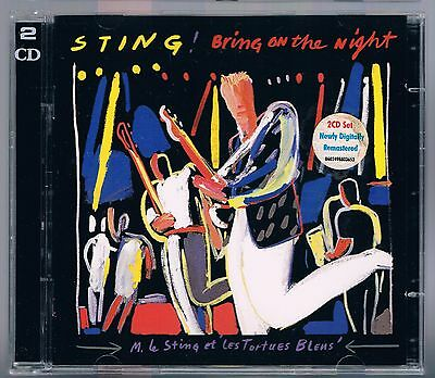 Sting (The Police) Bring On The Night - 2 Cd Come Nuovo!!!
