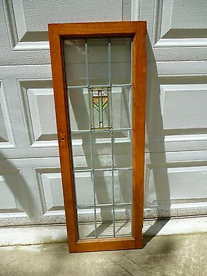 Antique Stained and Beveled Glass Window