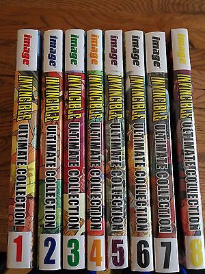 Invincible ultimate collection vol. 1-8