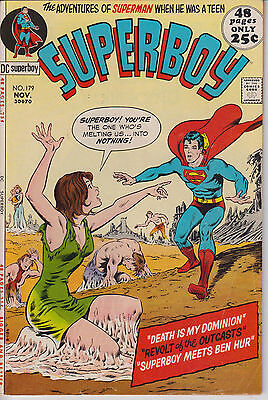 Superboy 179 - 1971 - 48 pages - Fine/Very Fine