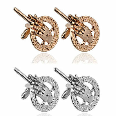 Game Of Thrones Cufflinks Hand Of The King cuff links Gold Silver Gift UK Stock