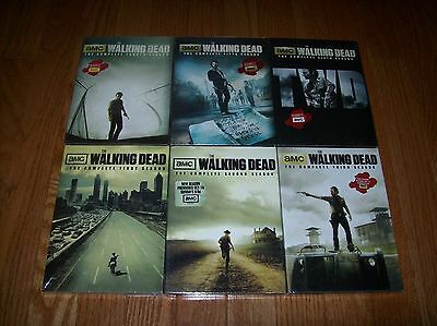 The Walking Dead: The Complete Seasons 1-6 (DVD, 2016, 26-Disc Set) 1 2 3 4 5 6