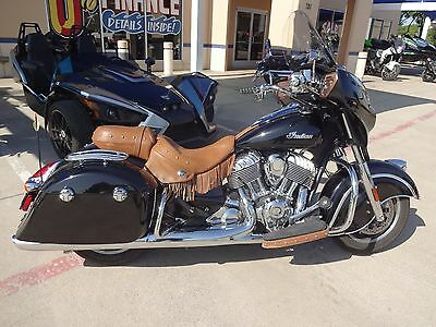 2015 Indian CHIEFTAIN  2015 INDIAN MOTORCYCLE CHIEFTAIN THUNDER BLACK