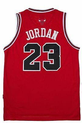 YOUTH KIDS Chicago Bulls Red Michael Jordan 23 Throwback Swingman Jersey