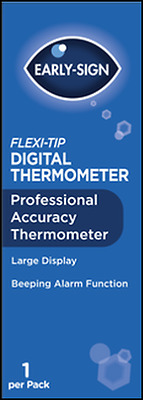Early Sign Digital Professional Thermometer Oral, Underarm Baby & Adult