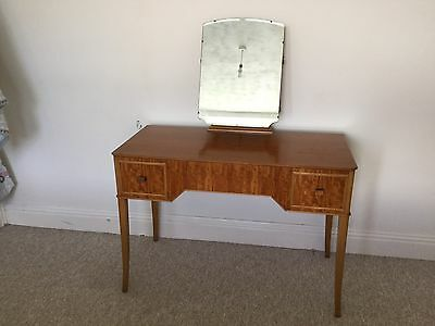 Heals Of London Alfred Cox Mid Century Peroba Wood Dressing Table.