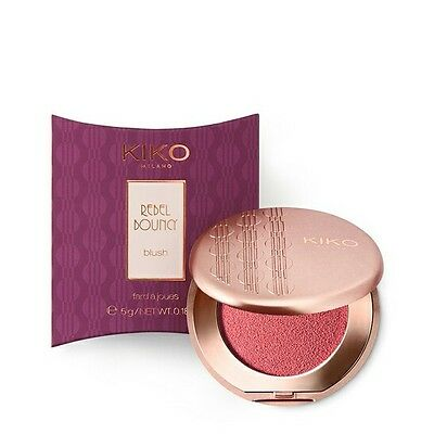 KIKO Cosmetics Rebel Bouncy Blush Romantic Rebel Blusher - 02 ADORABLE PINK