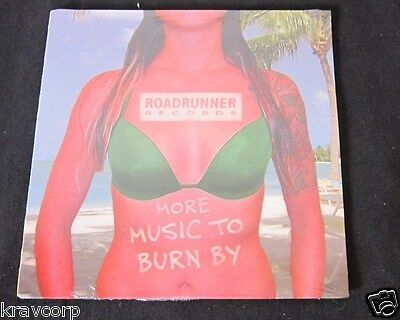 Nickelback/jerry Cantrell 'More Music To Burn By' 2002 Sampler Cd—Sealed