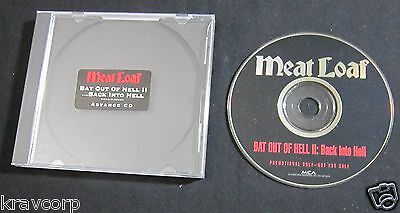 Meat Loaf 'Bat Out Of Hell Ii' 1993 Advance Cd