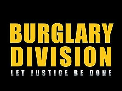 Police Detective Poster Burglary Division Police Officer Poster