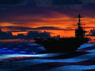 Navy Aircraft Carriers Poster (ACC20)