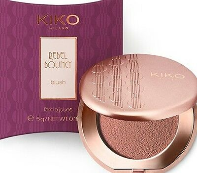 KIKO Cosmetics Rebel Bouncy Blush Romantic Rebel Blusher - 01 VELVETY PEACH