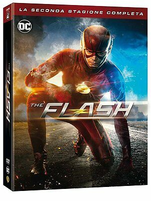 The Flash - Stagione 2 (6 Dvd) - Cofanetto Italiano, Nuovo, Originale