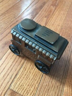 Vintage Popcorn Wagon Bank Berkshire County Savings Bank Pittsfield MA