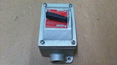 (New)  Crouse Hinds  Ds 415 Explosion Proof 3 Pole / 30Amp / Toggle/snap Switch