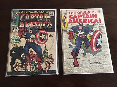 Captain America 100 and 109