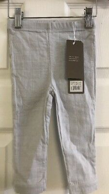 BRAND NEW Aden and Anais Blueish Grey Muslin Pants Soft And Comfy Boutique