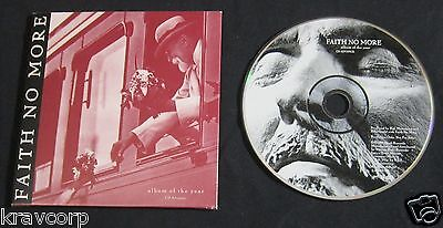 Faith No More 'Album Of The Year' 1997 Advance Cd