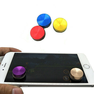 Touch Screen Analog Joystick Phone Tablet Mobile Gamepad Joypad Controller Black