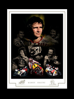 Barry Sheene Montage Print