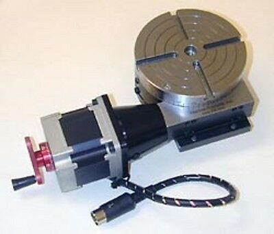Sherline 8730 CNC Rotary Table w/ Stepper Motor  for Mini Mill Made in the USA!