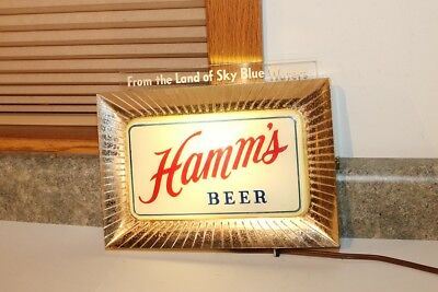 Hamm's Beer  Light Sign