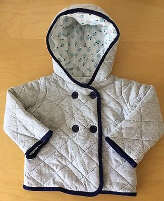 Baby Boy Winter Padded Jacket_Size 1 (12-18mths)