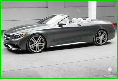 2017 Mercedes-Benz S-Class S63 AMG Cabriolet 2017 S63 AMG Cabriolet BRABUS AWD Convertible