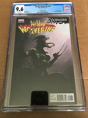 ALL-NEW WOLVERINE #18 (2017) CGC 9.6 (NM+) 1st Print Venomized Variant