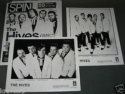 The Hives—2004 Press Kit—Two Photos