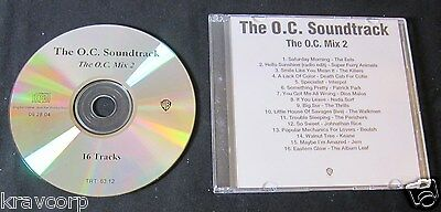The Killers/eels 'The O.c.: Mix 2' 2004 Advance Cd