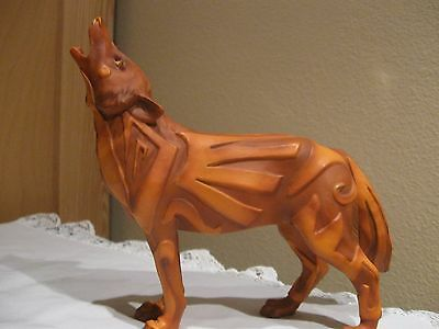 WOLF FIGURINE FROM the WOLF SPIRIT COLLECTION