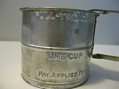 Small 2 Cup Flour Sifter