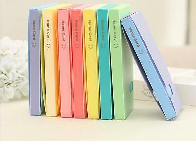 120 Pockets Smile Photo Album Business Card Card Photocard Name Card ID Holder