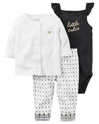 NWT Carter's baby girl 3-piece set 3M