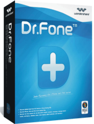 WONDERSHARE DR FONE TOOLKIT 8.0 FOR APPLE iOS DEVICES iPhone/iPad DATA RECOVERY
