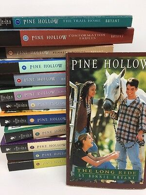 Lot Of 13 Pine Hollow Young Adult Books By Bonnie Bryant