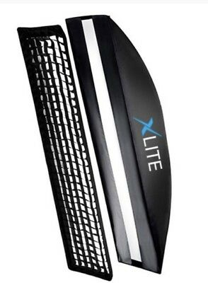 Xlite 25x150cm Pro Strip Softbox + Grid  +Mask for Elinchrom