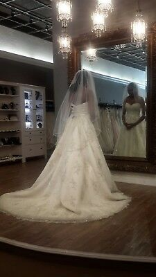 ef8ed0919bb82 MAGGIE SOTTERO WEDDING DRESS/Ball gown, size 6-8, Tulle - $2,500.00 ...