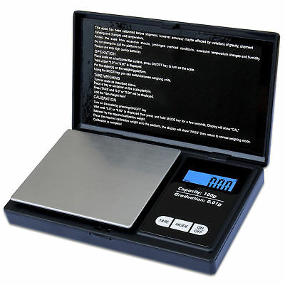 Portable Digital Pocket Scale 0.01g-100g/200g  Mini Jewellery Gram Weighing UP