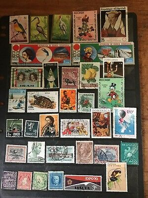 stamps  World Mixture - Used - Lot 409