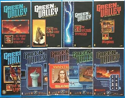 GREEN VALLEY issues #1-9 Image Comics Complete Series NM Max Landis 1st Prints