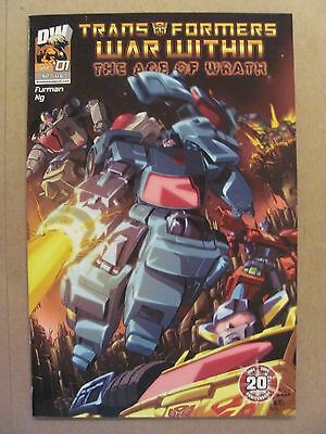 Transformers War Within The Age of Wrath #1 Dreamwave 2004 Series 9.4 Near Mint