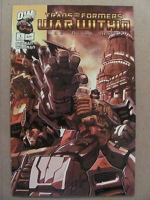 Transformers War Within The Dark Ages #1 Dreamwave 2003 Series 9.4 Near Mint