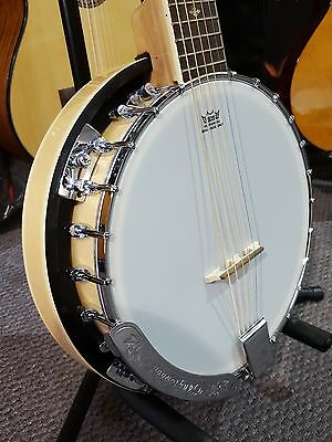 Tanglewood 6 String Banjo Ganjo - Perfect for Guitarists Looking for Banjo Sound