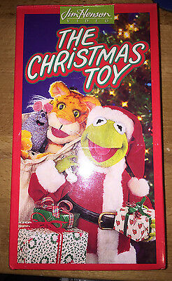 The Christmas Toy Jim Henson And The Muppets Kermit The Frog New Vhs