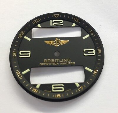 Genuine Breitling Aerospace Navitimer Black Dial With Good Condition Dial-B287