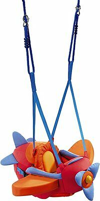 HABA Airplane Baby Bouncer, Jumper, Swing -Indoor Mounted, Adjustable Baby Swing